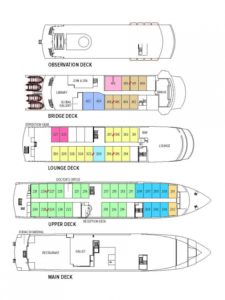National Geographic Endeavour II Deck Plans